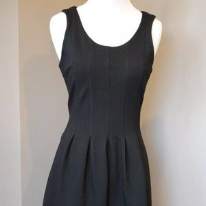 J.Crew Fit & Flare Pleated Navy Dress 10 $120